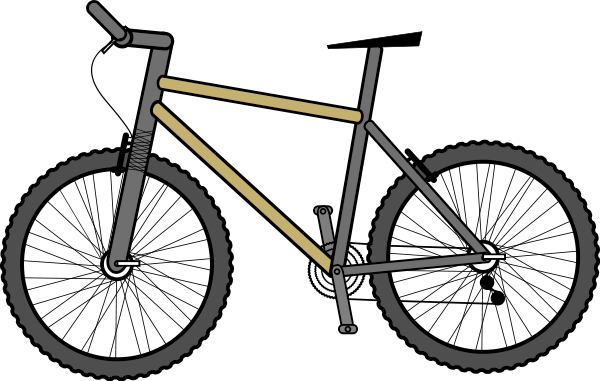 600x381 Mountain Bike Clip Art Many Interesting Cliparts
