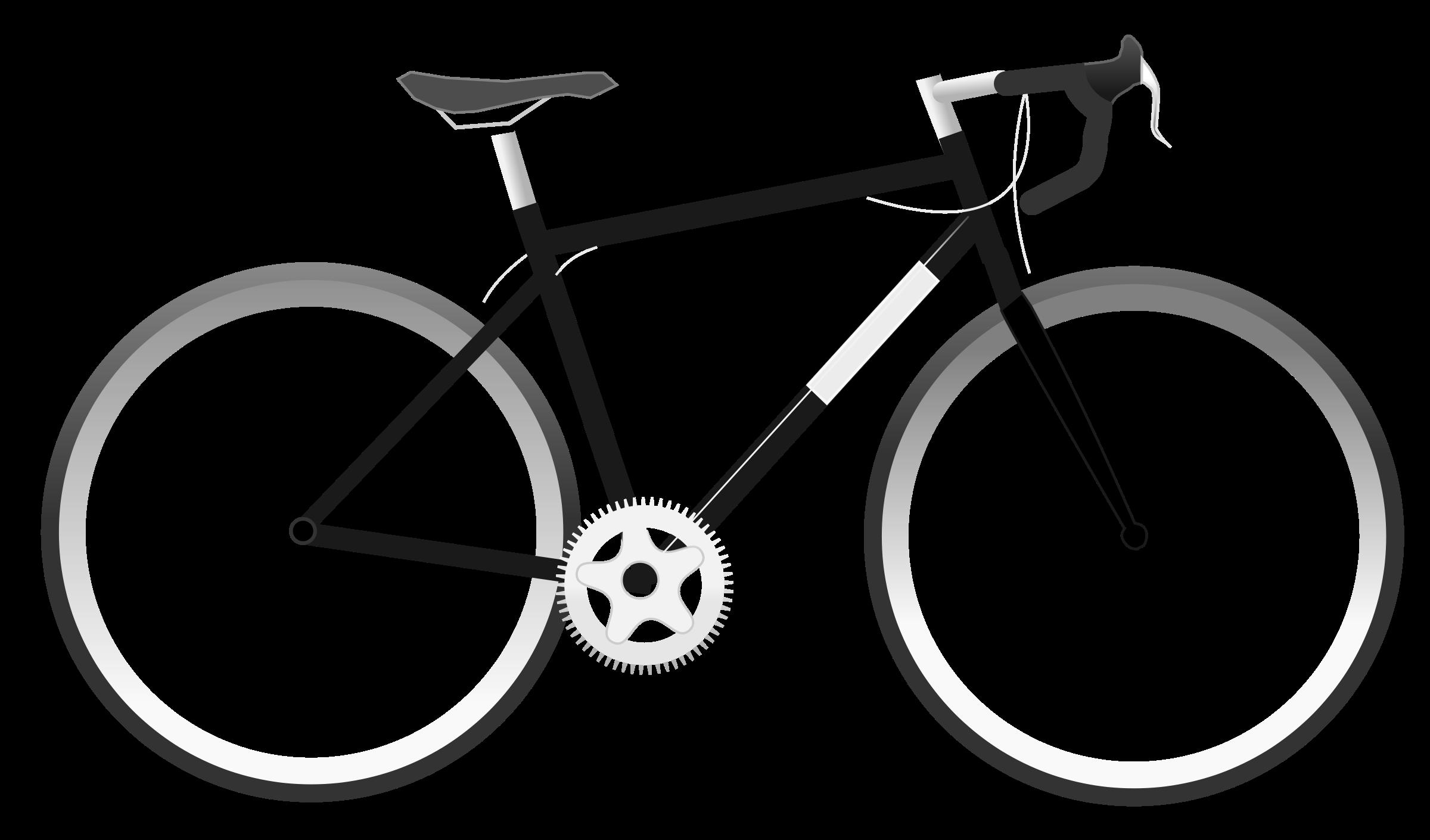 Bike Clipart Black And White | Free download best Bike Clipart ... for Bicycle Clipart Black And White  103wja
