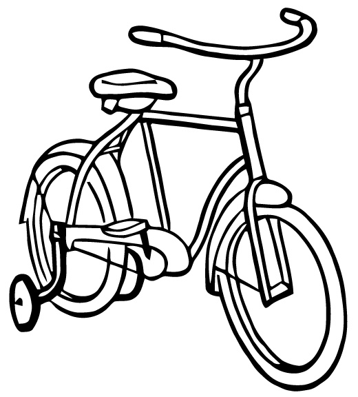 Bike Clipart Black And White | Free download on ClipArtMag