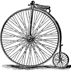 236x236 Victor Cycle Magazine Ad, Free Vintage Bicycle Clipart, Black