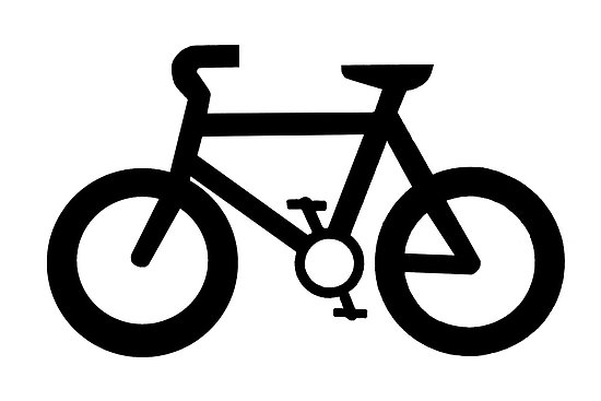 550x367 Bicycle Bike Clipart Black And White Free Images 2