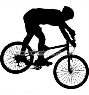 300x320 Bike Clipart Mtb
