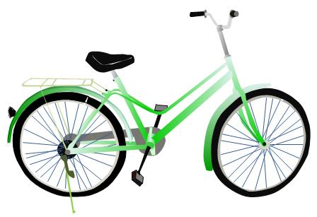 448x307 Bike Clip Art Bicycle Clipart 2 Clipartwiz 3