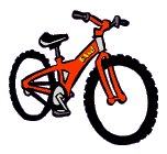 152x140 Free Bicycles Clipart
