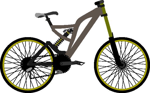 600x373 Mountain Bike Clip Art