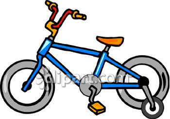 350x246 Bicycle Clipart Training Wheel