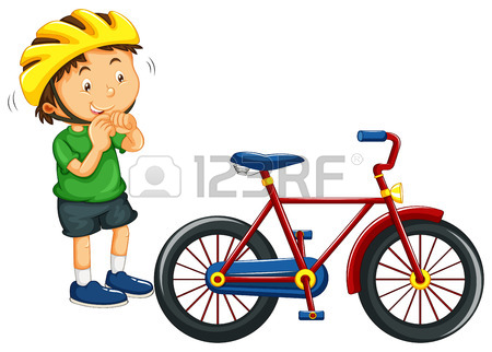 450x322 9,592 Children Bike Stock Illustrations, Cliparts And Royalty Free