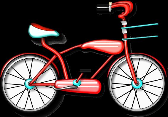 566x395 Clip Art Bike