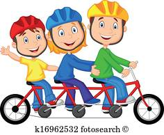 236x194 Family Bike Ride Clip Art Eps Images. 976 Family Bike Ride Clipart