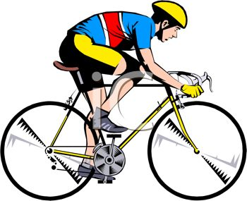 350x285 Men Clipart Biking