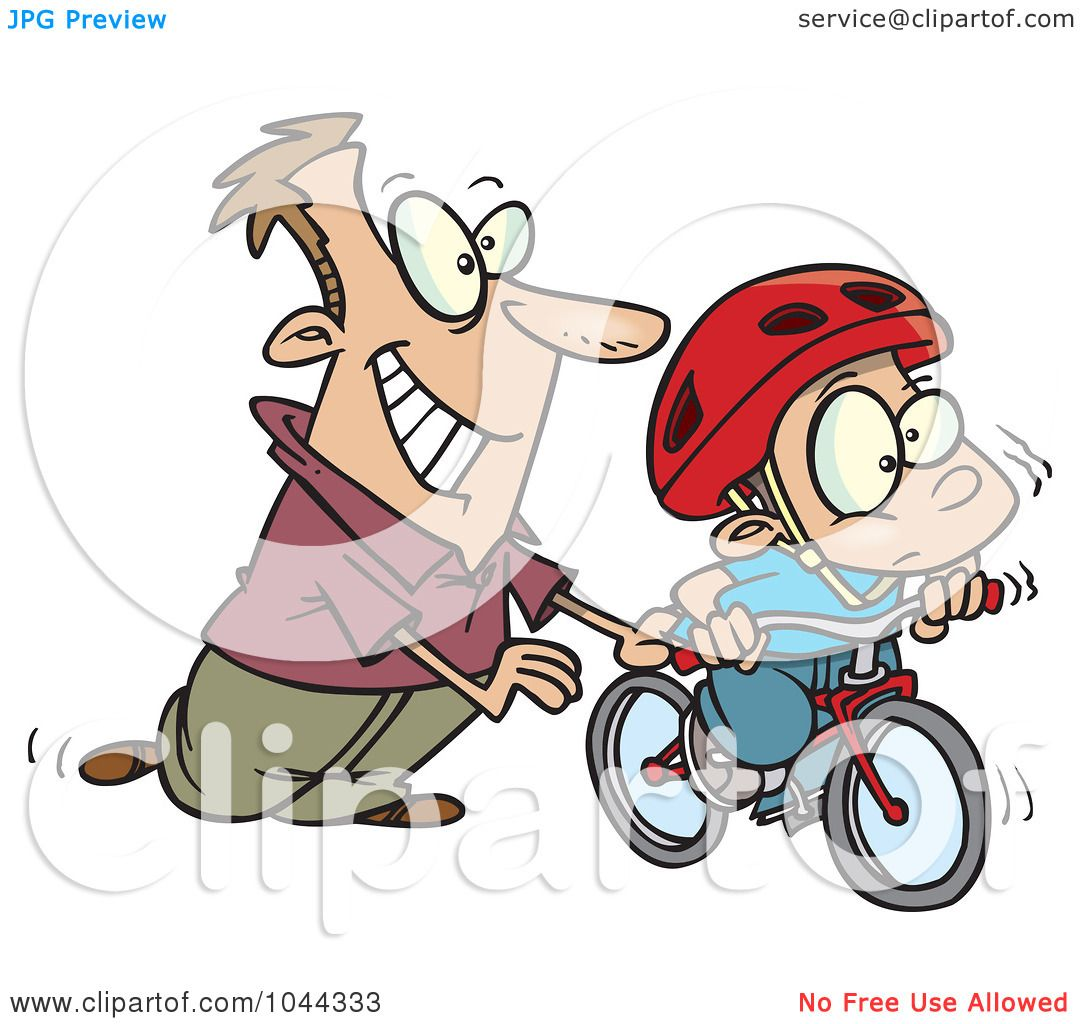 1080x1024 Royalty Free (Rf) Clip Art Illustration Of A Cartoon Father