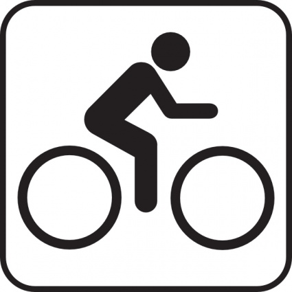 425x425 Bicycle Clipart Riding Bike