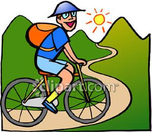 300x260 Bike Clipart Bike Trail
