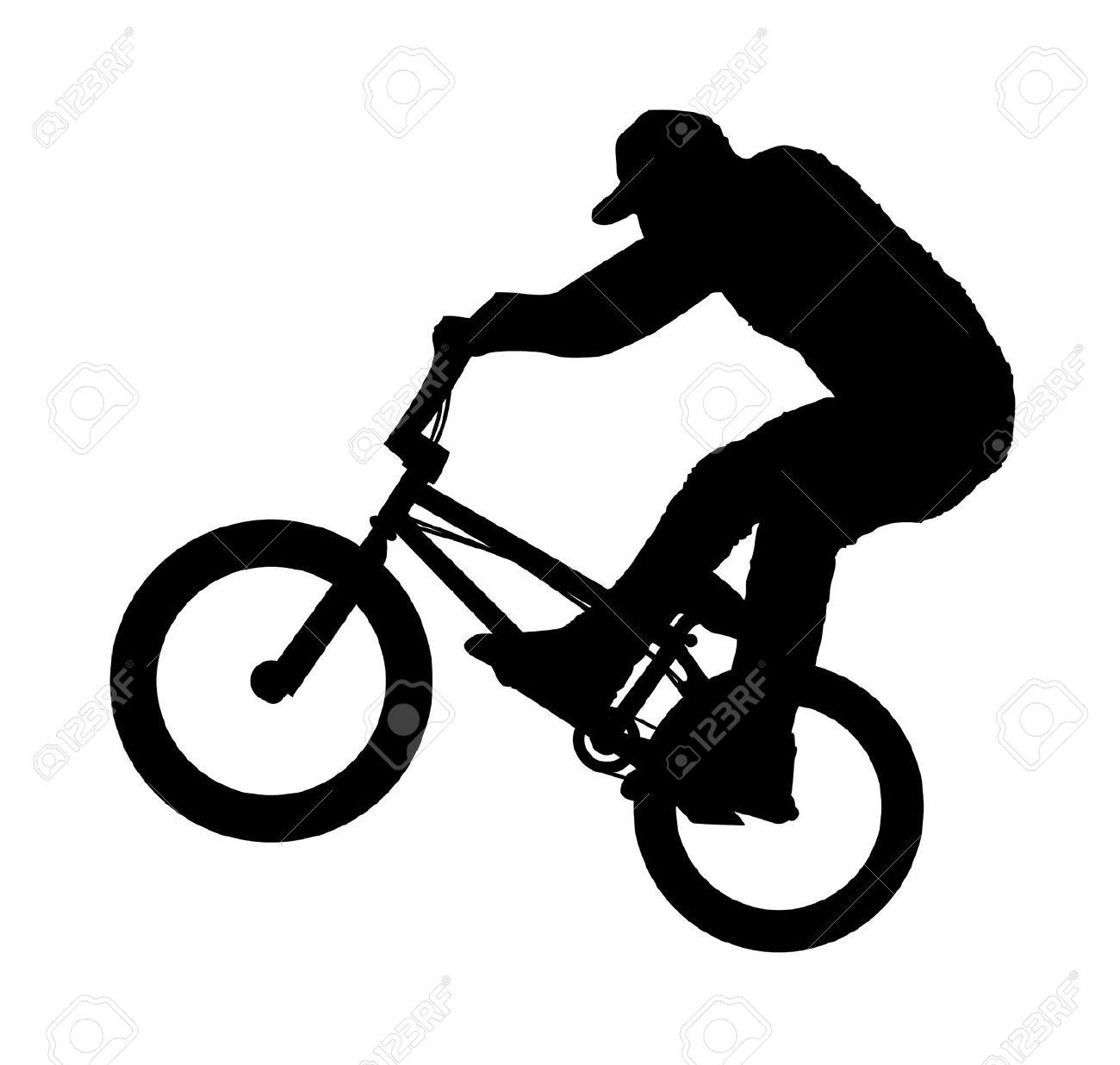 1300x1236 Bike Clipart Trick