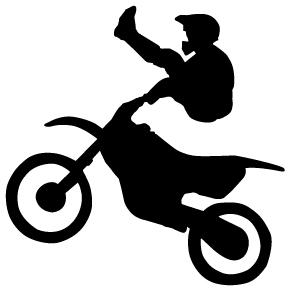 296x294 Dirt Bike Clip Art