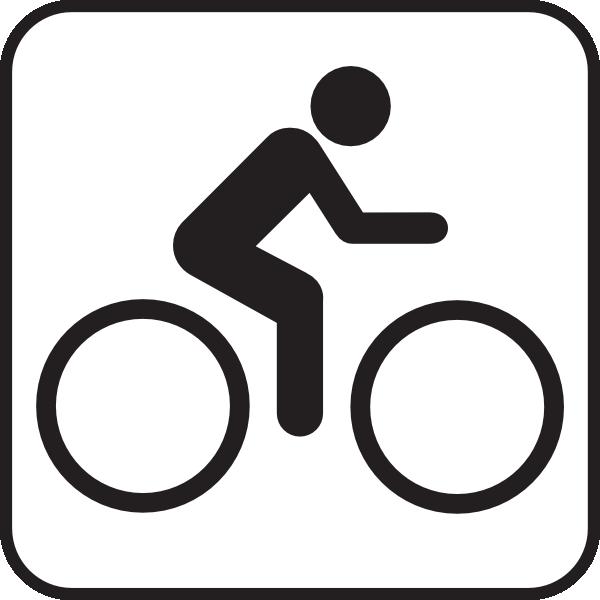600x600 Map Symbols Bike Clip Art