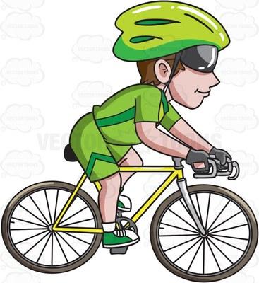 367x400 Road Bike Clipart