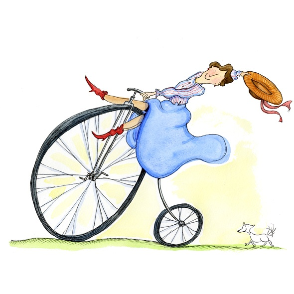590x590 186 Best Bicycle Art. Women Images Bicycle