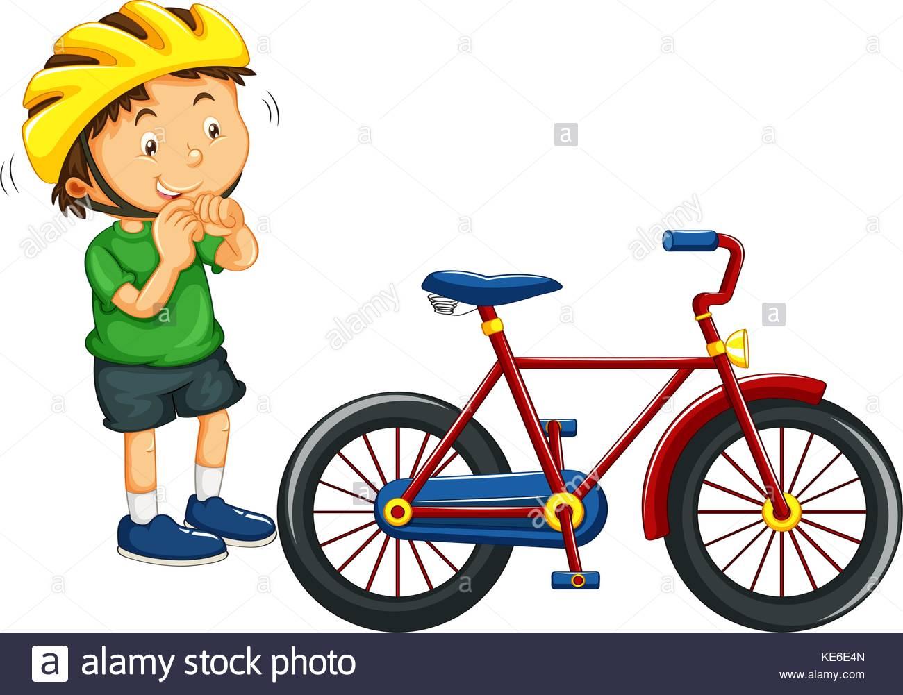 1300x1001 Cartoon Image Kid Riding Bicycle Stock Photos Amp Cartoon Image Kid