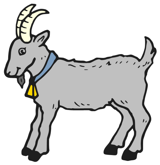 549x564 Billy Goat Clipart Chivo