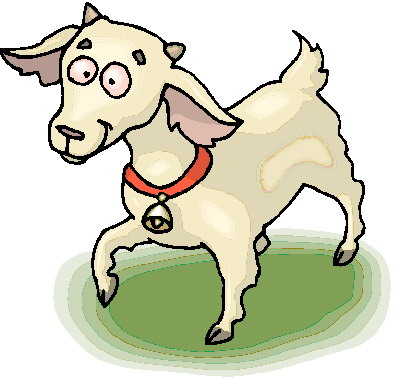 400x384 Billy Goat Clipart Cute