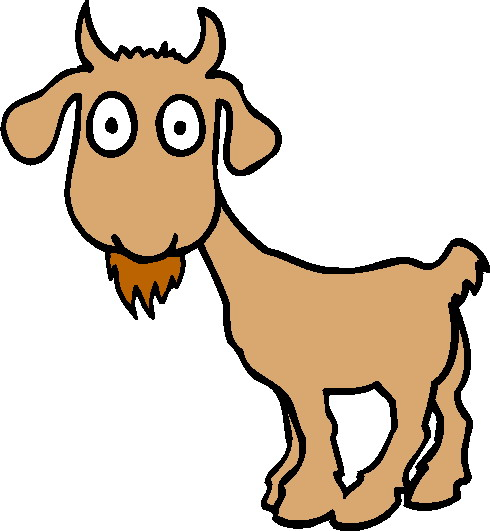 490x531 Billy Goat Clipart Kid Goat