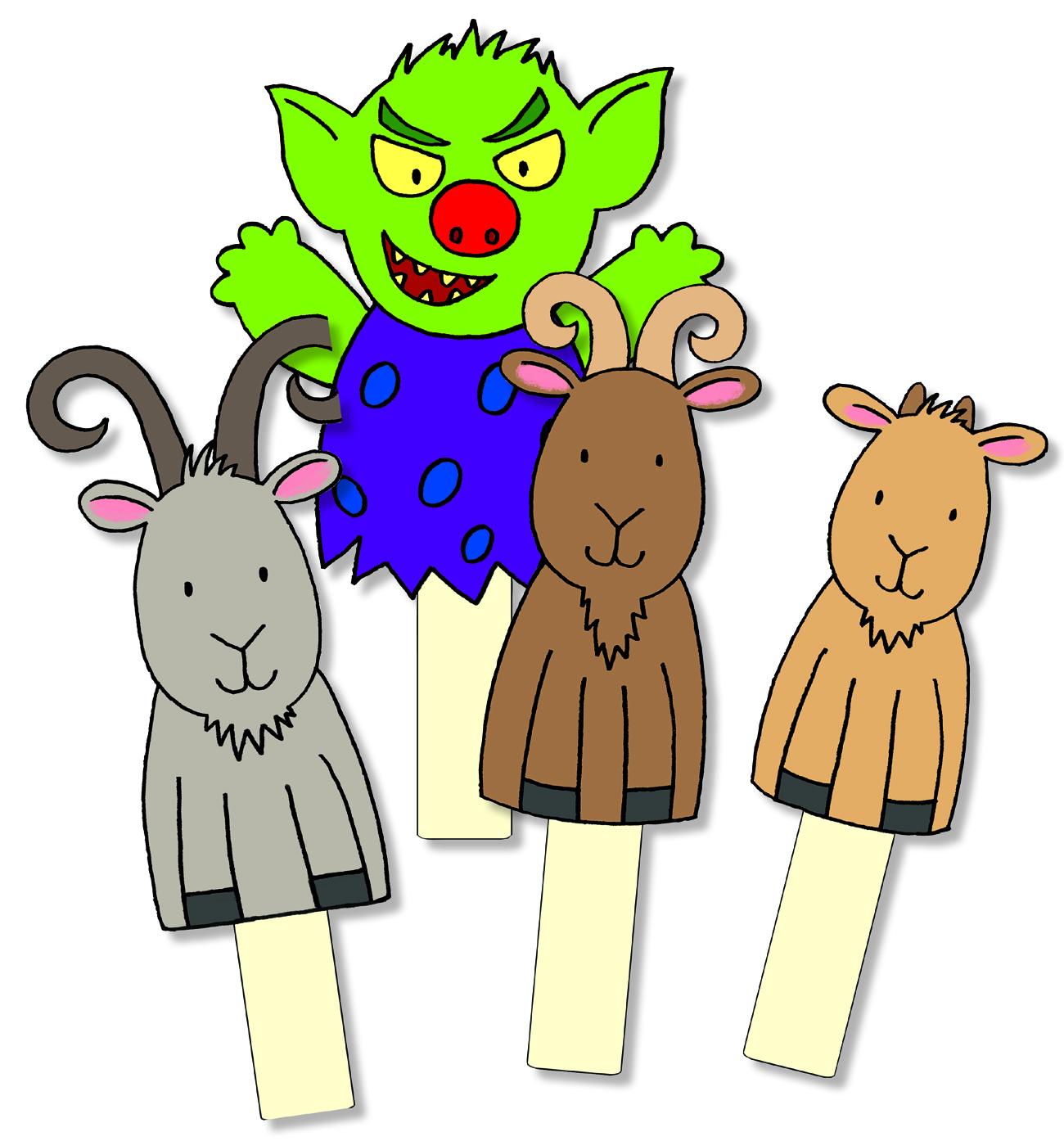 1300x1394 Billy Goat Clipart Gruff