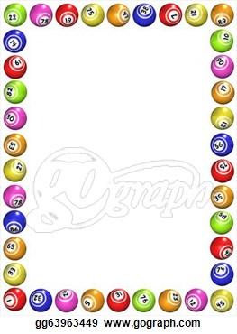 Bingo Border on Teaching Clip Art Free Amp Page 4