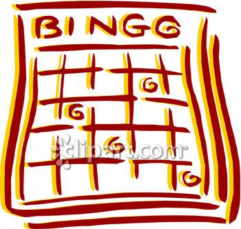 350x332 Bingo Card Clipart Picture