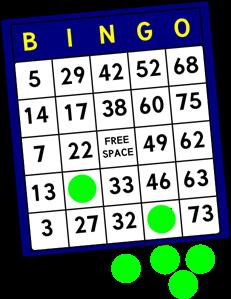 231x299 Bingo Card Png, Svg Clip Art For Web