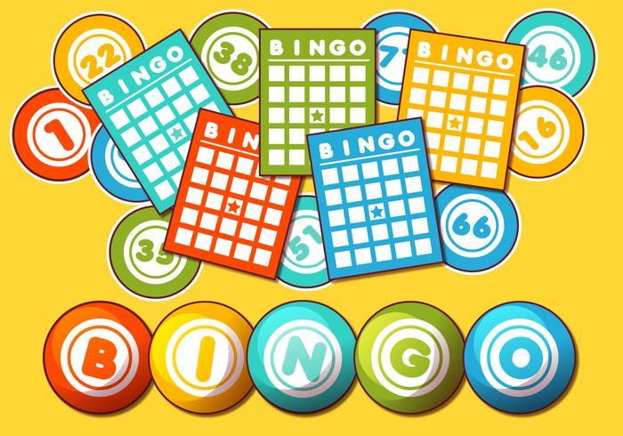 700x490 Bingo Card Vector Set
