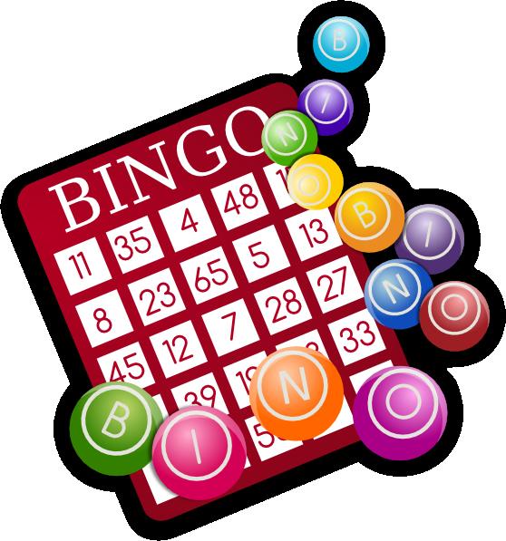 558x597 Bingo Clip Art