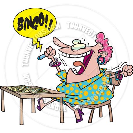 460x460 Cartoon Bingo By Ron Leishman Toon Vectors Eps
