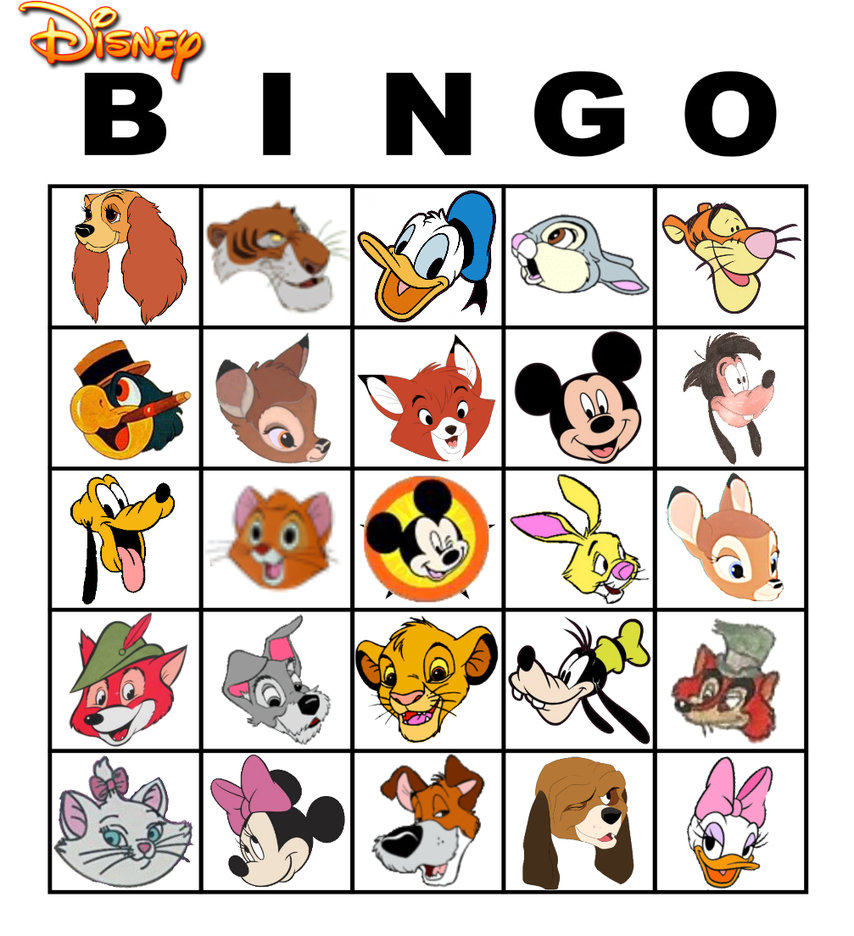 photograph relating to Disney Bingo Printable identify Bingo Card Clipart Cost-free obtain most straightforward Bingo Card Clipart