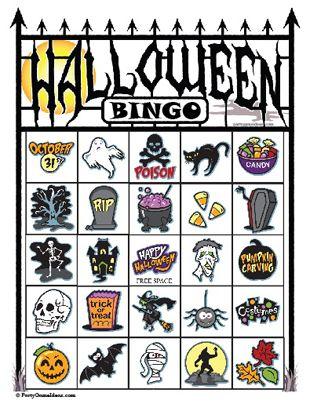 310x404 The Best Halloween Bingo Cards Ideas Halloween