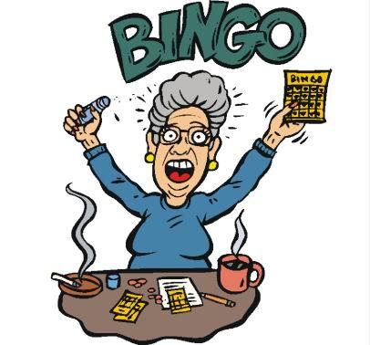 406x378 Bingo Night Fundraiser Alzheimer Fundraiser Clip