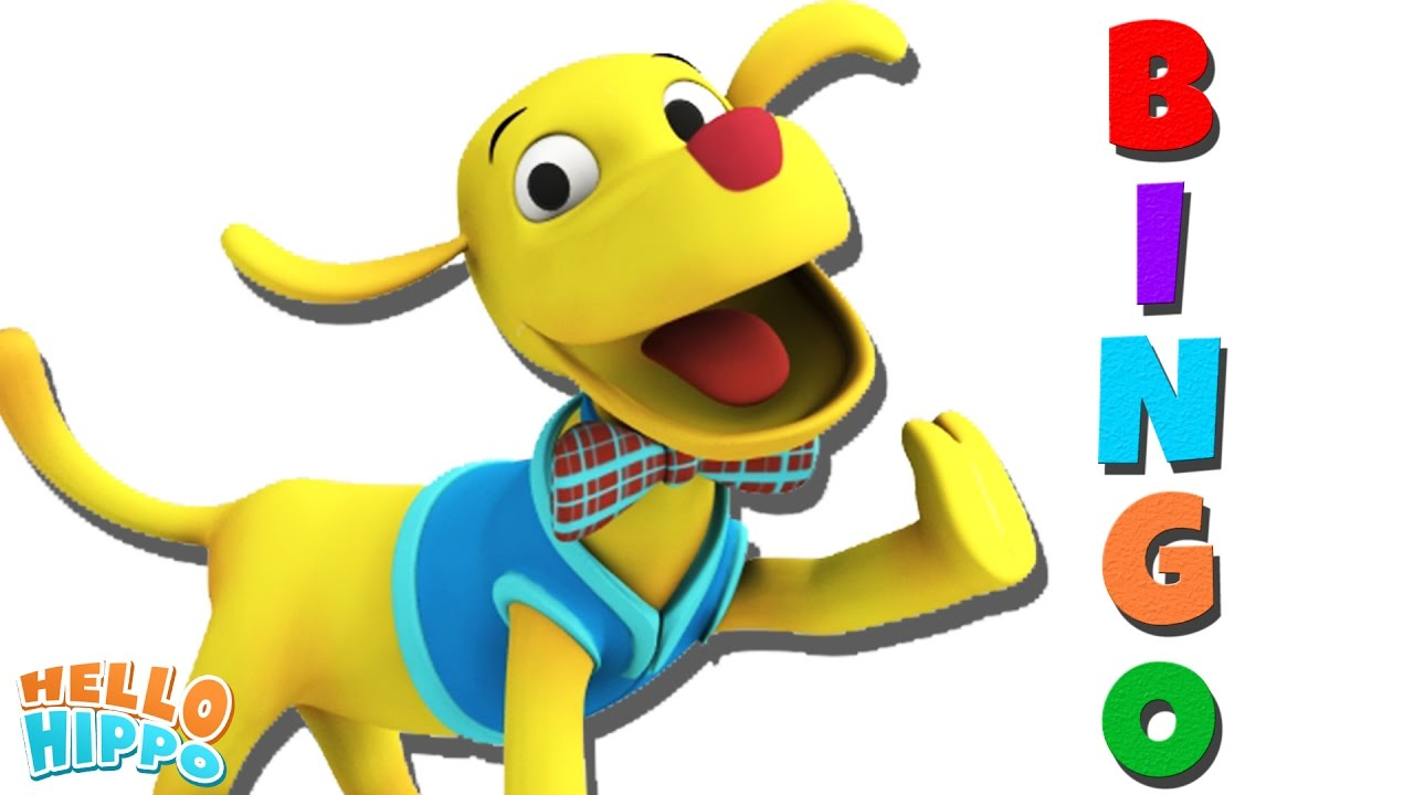 1280x720 Bingo Dog Song Popular 3d Rhymes And Songs For Kids Hello