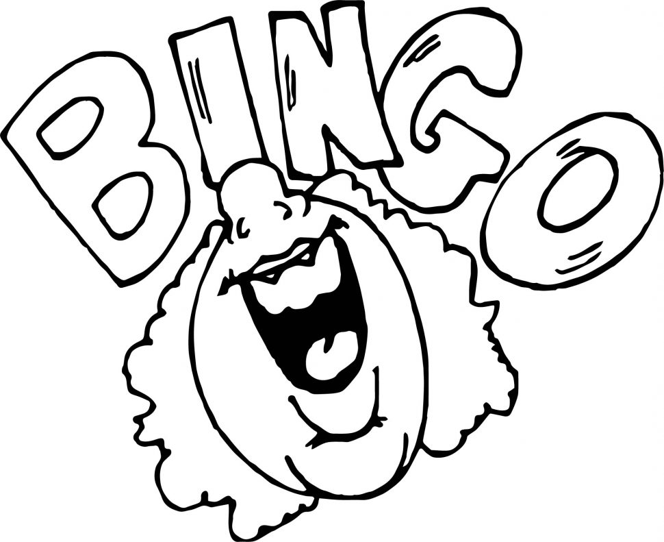 970x791 Coloring Pages Bingo Coloring Pages Vector Of A Cartoon Woman