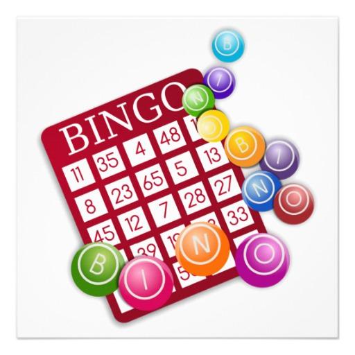 512x512 Personalized Bingo Game Invitations
