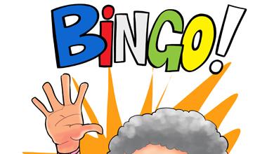 390x220 Funny Bingo Lady Tagged Cartoons