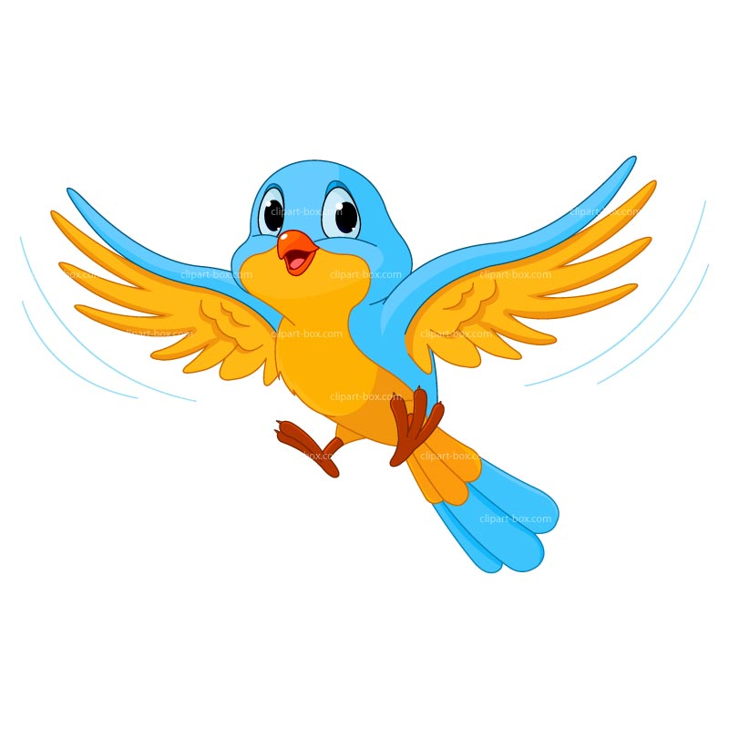 Animated bird. Animation clipart free download