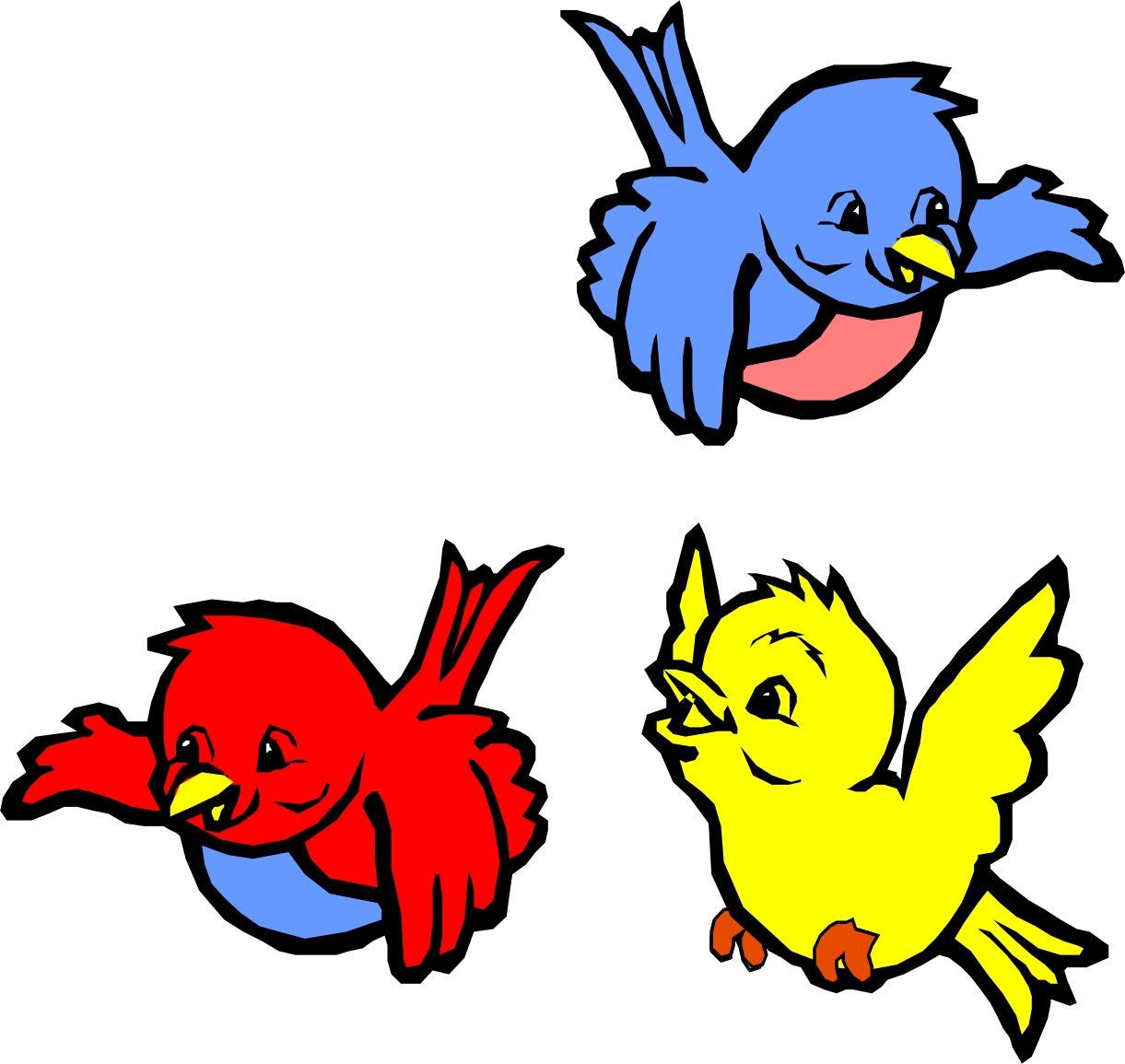birds flying bird clipart animated cartoon clip cliparts animation aviary nest graphic library clipartmag coloring cute drawing pages collection clipartbest