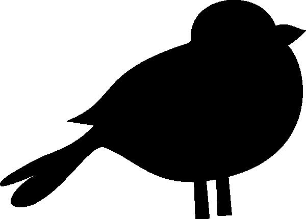 600x430 A black bird clip art 2