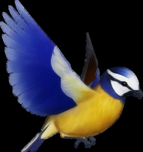 473x500 Colored Clip Art Of Flying Bird Public Domain Vectors