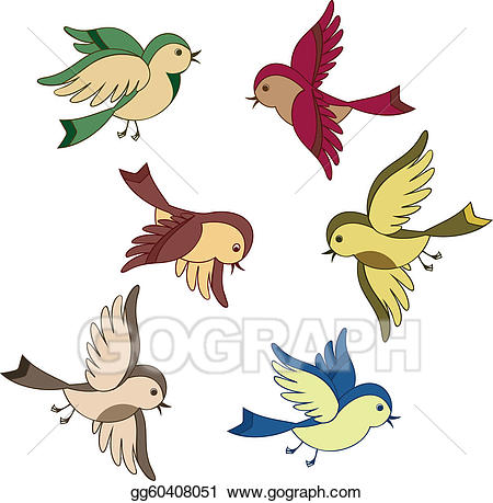 450x459 Flying Bird Clip Art