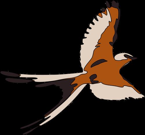 500x465 Flying Bird Clipart