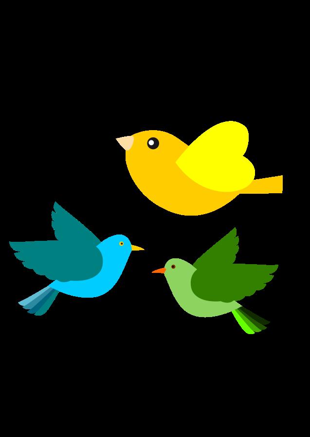 637x900 Bird Clipart Flying