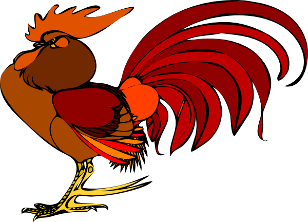 600x432 Rooster Clip Art Many Interesting Cliparts