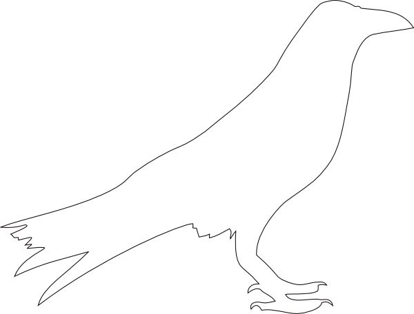 Bird Clipart Outline