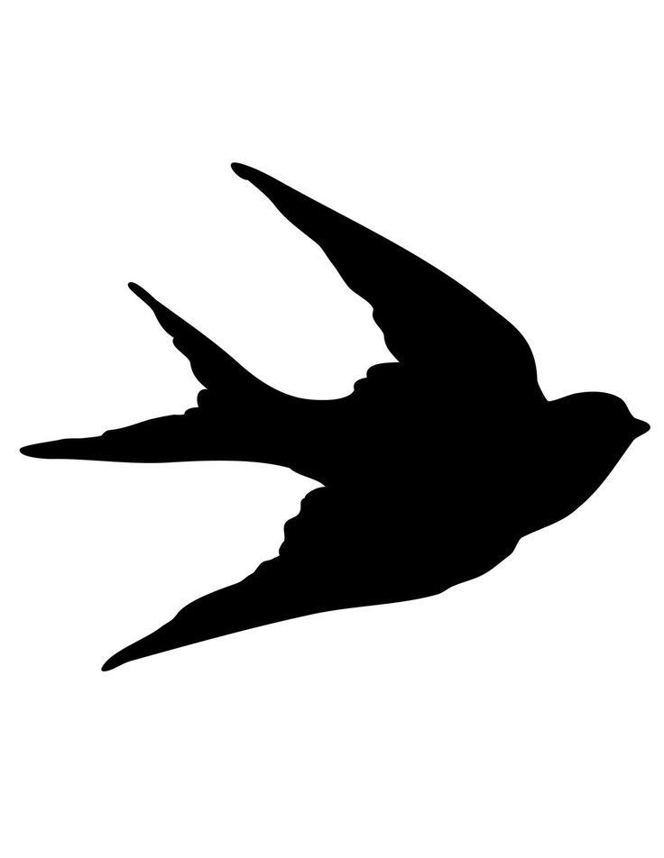736x952 Clipart Bird Outline